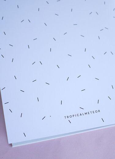 Carnet TIR 6.50€ www.tropicalmeteor.com #tropicalmeteor