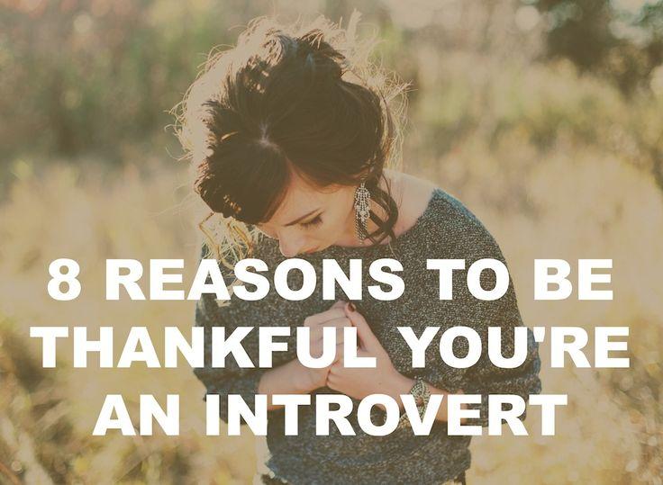 thankful introvert