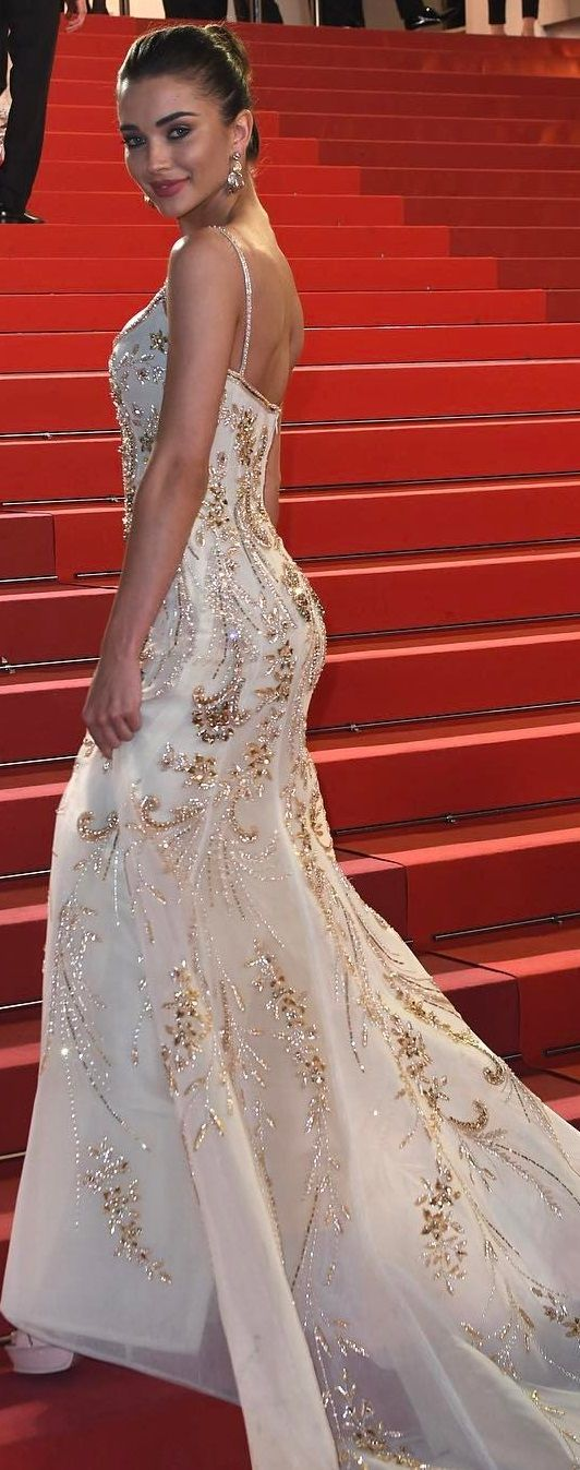 Amy Jackson in Georges Hobeika @ Cannes Film Festival, 2017.