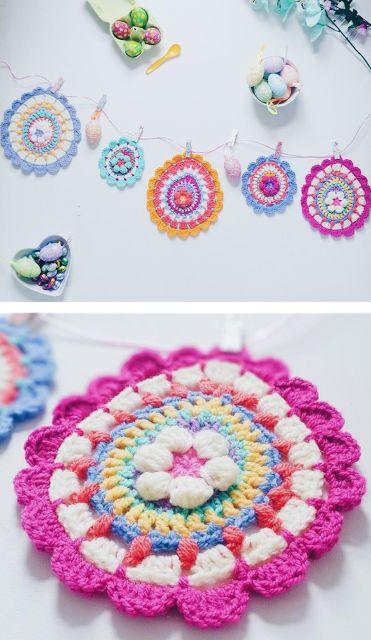 Mejores 43 imágenes de Mandalas - FREE Crochet & Knits en Pinterest ...