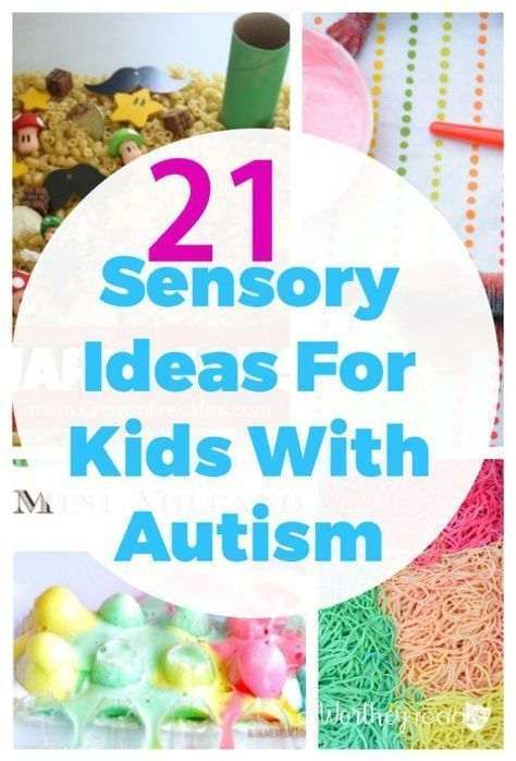 Stimulating Toys For Toddlers : Sensory ideas for kids with autism special needs