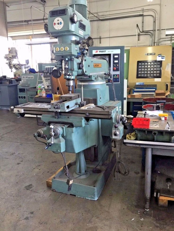 LAGUN VERIABLE SPEED VERTICAL MILLING MACHINE / POWER FEED X.Y. + WITH TOOLING…