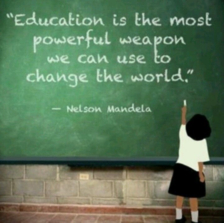 Nelson Mandela quote on education. Quotes