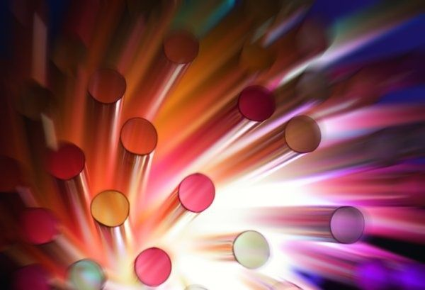 colorful dynamic dot highdefinition