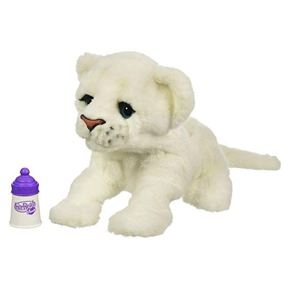 Amazon Com Furreal Friends Baby Lion Live Target Exclusive White Toys Games Fur Real Friends Little Live Pets Kids Toy Organization