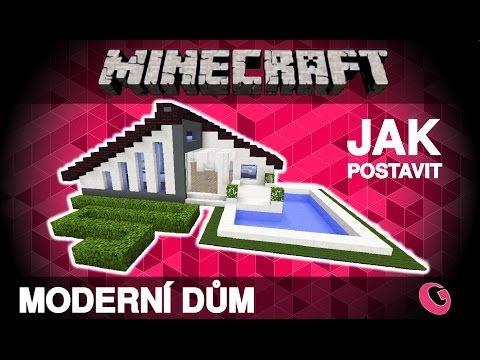 http://minecraftstream.com/minecraft-tutorials/minecraft-jak-postavit-moderni-dum-02-modern-house-tutorial-czsk/ - Minecraft: Jak postavit moderní dům 02 / modern house, tutorial (CZ/SK)  Dnes mám pro Vás další ze série moderních domů a tentokrát i s vybavenou kuchyní a obývacím pokojem :). Domy navrhuji tak, aby byly nejen hezké, ale také prakticky použitelné v Minecraftu. Takže musí být bezpečné a žádný mob se do něj nedostane ;). Moc díky za zhl