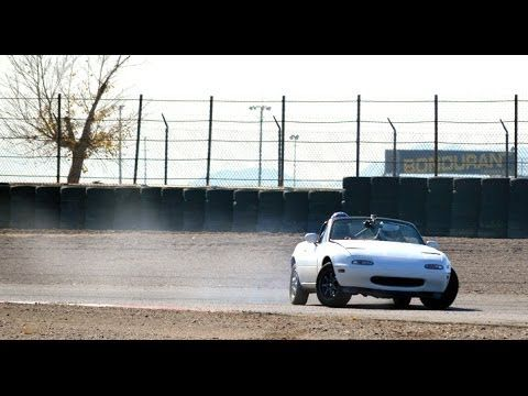 Beau Bryan Young Takes The Place At 2014 Import Face Off Mini Drift Competition  On A Bone Stock Mazda Miata.