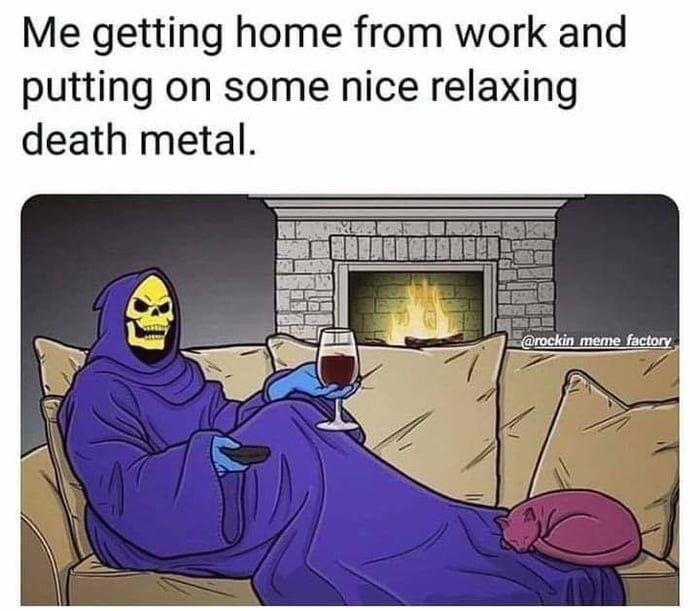 Metal Is Life Funny Infinityfunny Infinityfunnydotcom Death Metal Memes Funny Memes