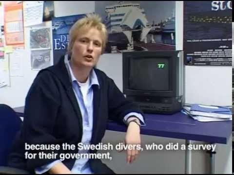 MS Estonia - Jutta Rabe - the secret of how the ship got blown up