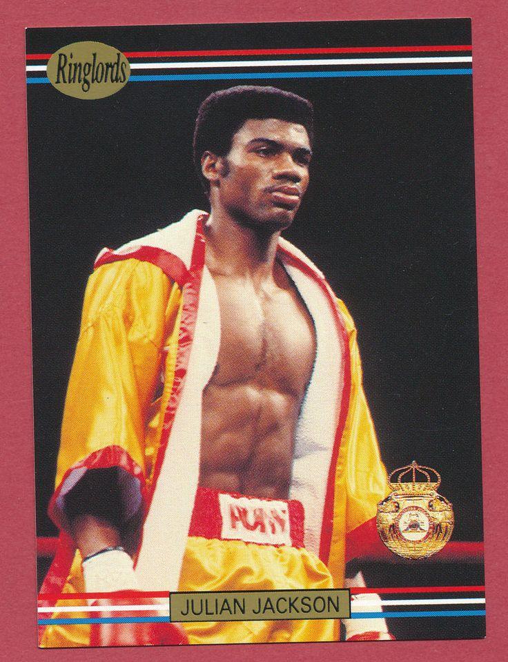 Julian Jackson boxer boxing 1991 Ringlords trading card #22