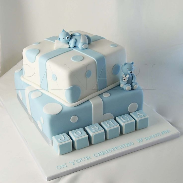 Christening Cake Designs For Baby Boy : baby boy christening cakes - Google Search ART ...