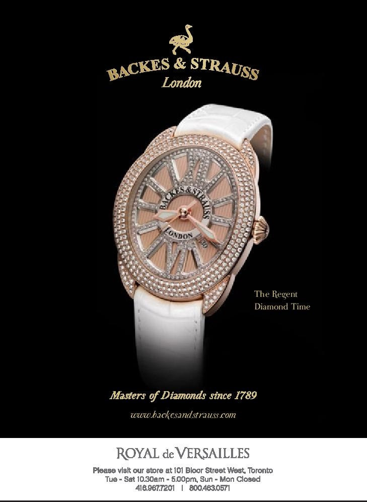 The Regent Diamond Time - For more information, visit www.backesandstrauss.com