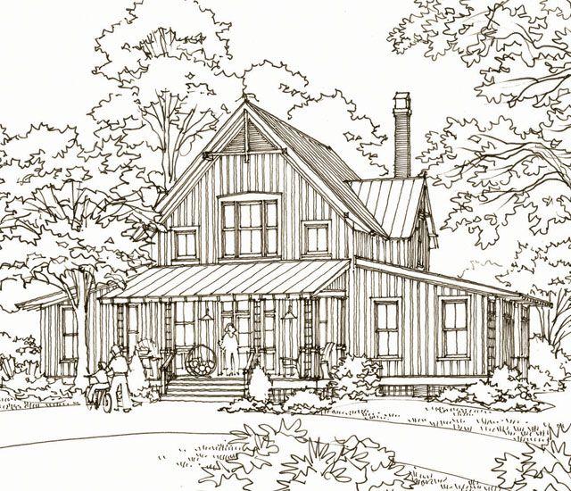 Southern Living: White Plains, plan SL-1799