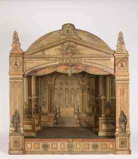 i love this.. how faded it is.. very old worldy.. how fun!Toys Theater, Toys Theatres, Paper Theatres, Miniatures Theater, Antiques Dollhouse, Vintage Toys, Diy Projects, Paper Toys, Paper Theater