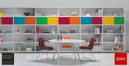 vendita arredamento online_Librerie  socrate_ Caimi Brevetti