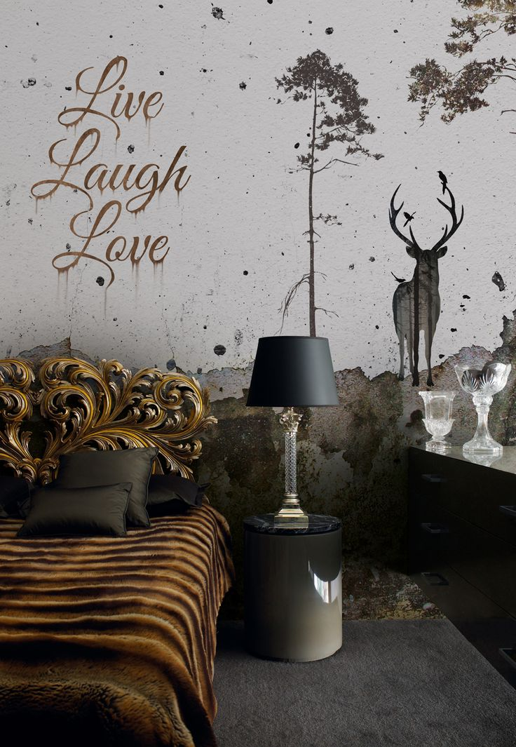 Photomural Article nr: 6332010 - Live Laugh Love - Size: 300 x 270cm | Like us on facebook: https://www.facebook.com/wecobv