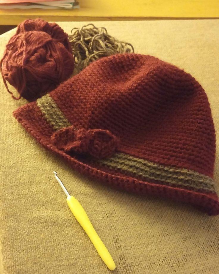 """pattern from ravelry """"Elegant Hat"""""""