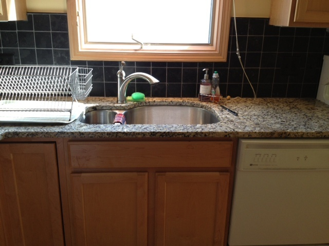 Sealing Granite Countertops Lowes : 17 Best images about Granite kitchen countertops & backsplashes on ...