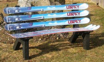 Ski Furniture - but something less jarring color-wise