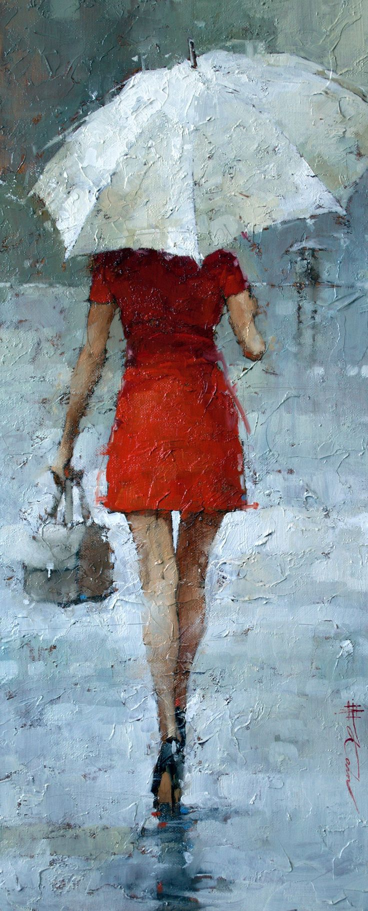 """Vintage Chanel, series #63, Oil, 24"""" x 10"""", Andre Kohn  www.andrekohnfineart.com BTW, FYI, FREE Gift Here: http://www.universalthroughput.com/site2/  also, check out http://jeremy-aiyadurai.pixels.com"""