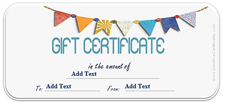 Create a Gift Certificate with These Free Microsoft Word Templates: Free Gift Certificate Templates at Creative Certificates