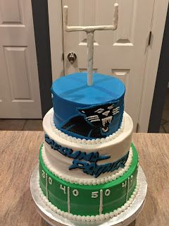 Best  Carolina Panthers Cake Ideas On Pinterest Carolina - Football cakes for birthdays