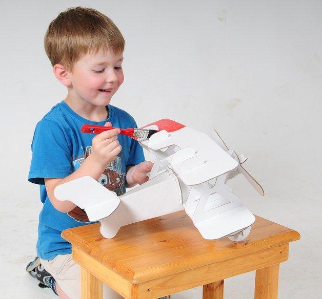 Ber ideen zu flugzeug basteln auf pinterest - Flugzeug basteln mit kindern ...