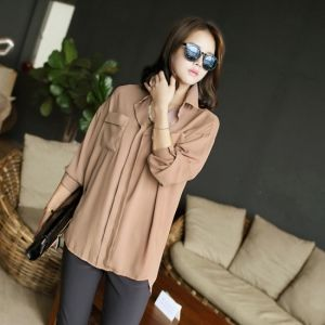 Republic of Korea reigning Women's Clothing Store [CANMART] Claw your blouse / Size : FREE / Price : 35.57 USD #korea #fashion #style #fashionshop #apperal #koreashop #missy #canmart #top #blouse #basic #dailylook