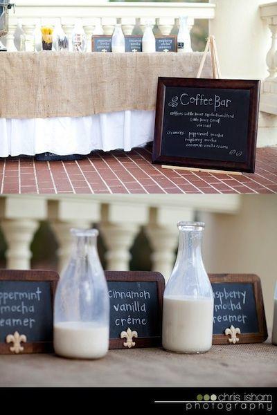 Coffee Themed Wedding | Intimate Weddings - Small Wedding Blog - DIY Wedding Ideas for Small and Intimate Weddings - Real Small Weddings
