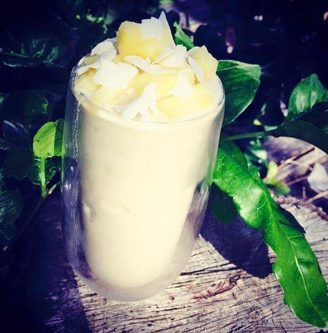 Piná Colada Healthy Mummy Smoothie Recipe