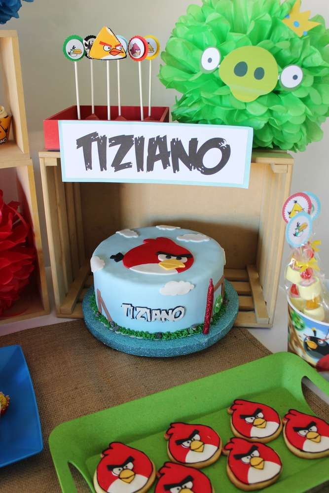 115 best images about angry birds party ideas on pinterest for Angry birds birthday party decoration ideas