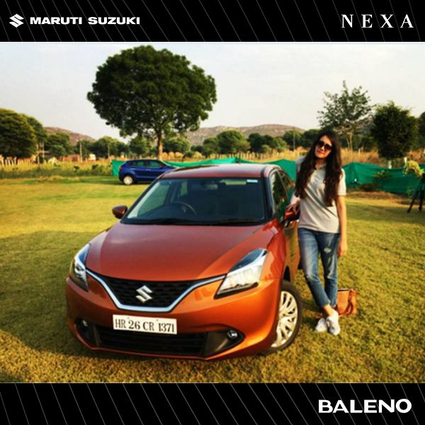 """""""It feels like a really light car and a kind of car that will keep you safe.""""  - Meher Bajwa, Assistant Editor, Maxim India."""