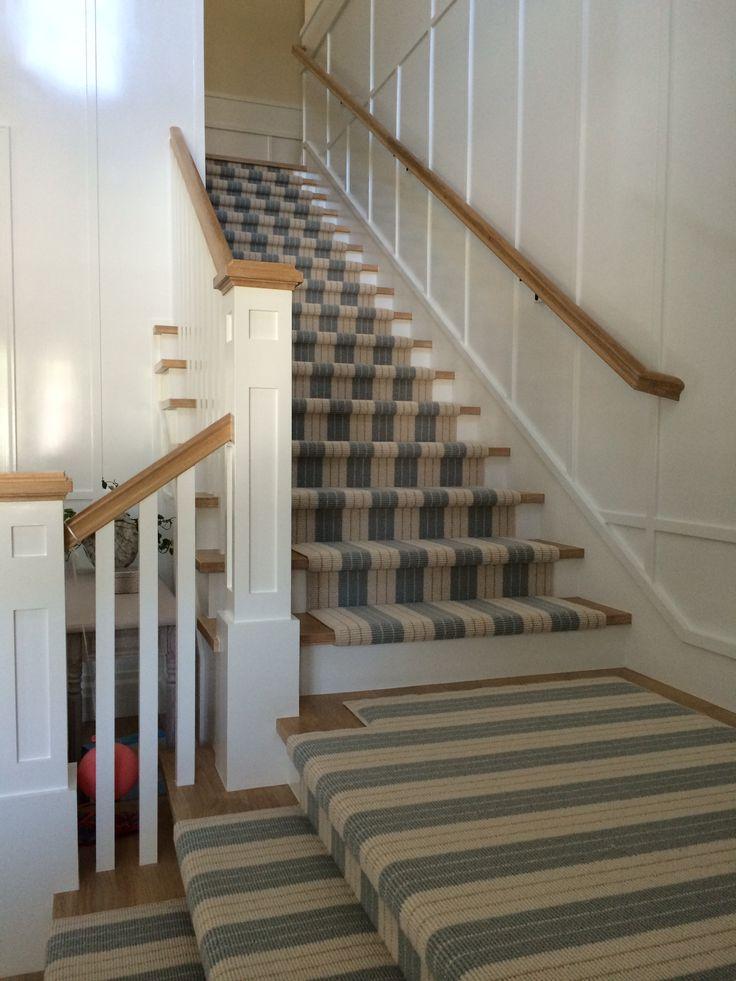 Lauren Stripe Stair Runner Newport Beach Vinyls Carpets