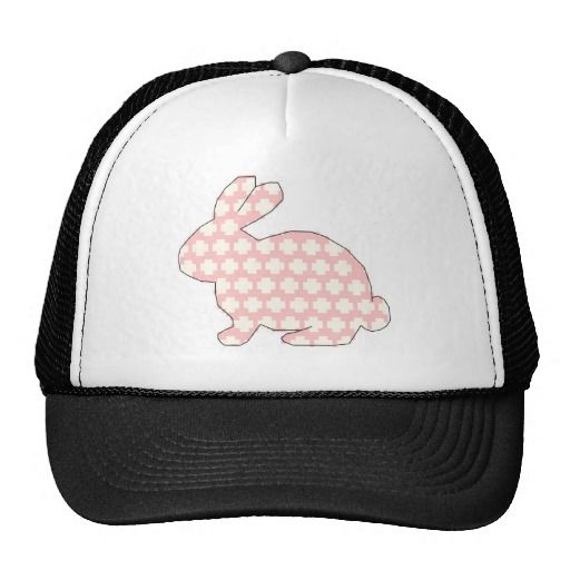 Cross stitch Spotty rabbit cap £11.10