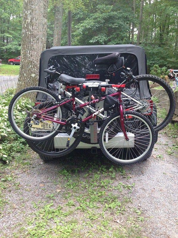 wrangler spare tire bike rack