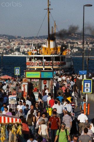 Ferry Crossing - Golden Horn in Turkey