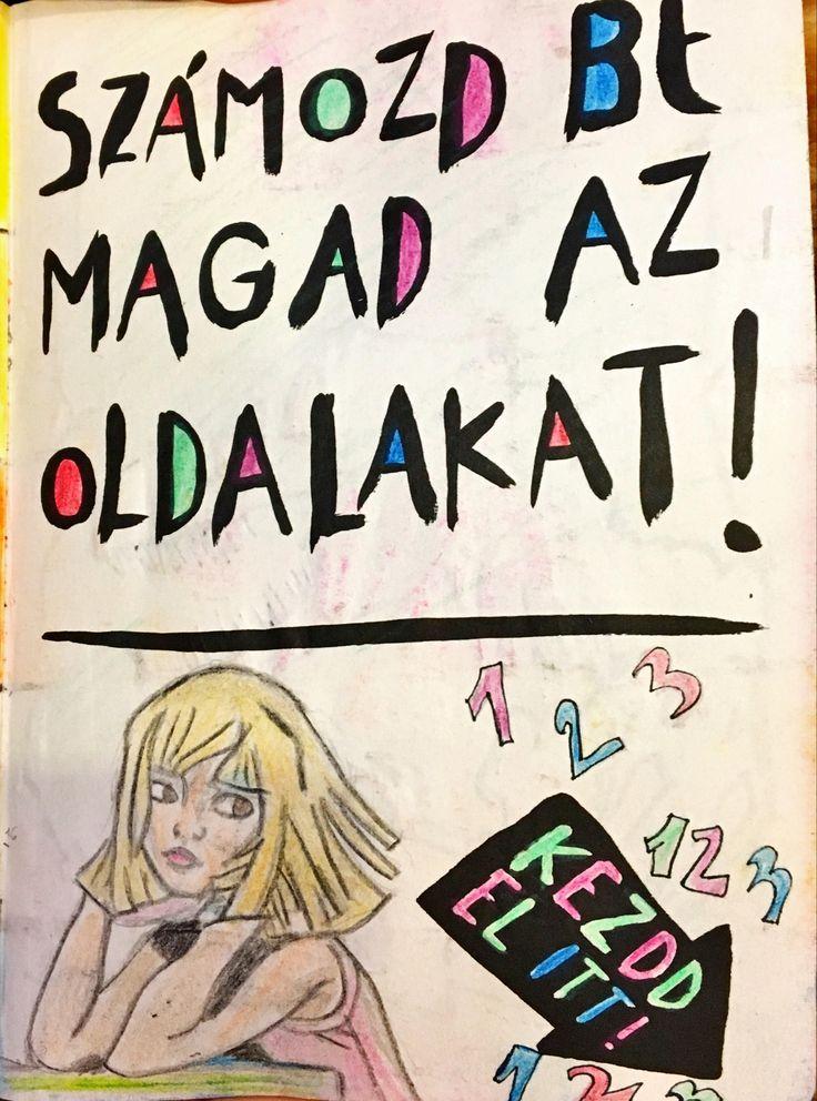 #NyírdKiEztANaplót #WreckThisJournal #Sia #Chandelier #OneTwoThree #123