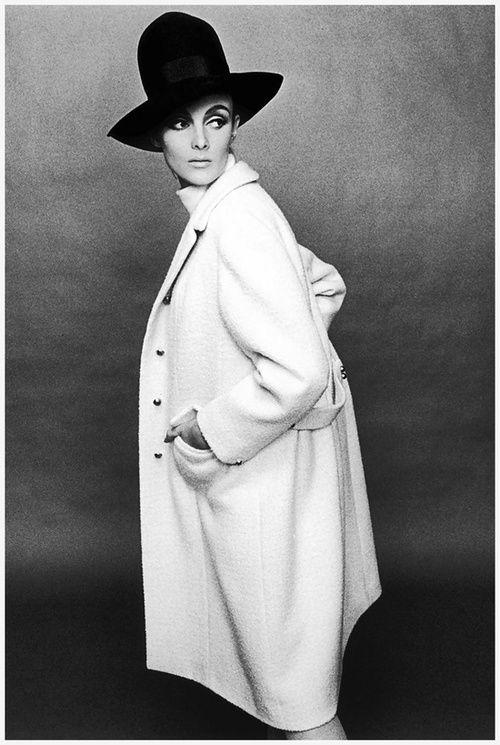grace coddington by terence donovan. 1964.
