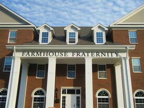 why does farmhouse have such a big house when they're one of the smallest fraternities