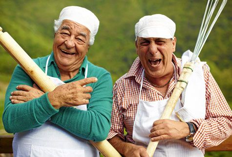 Two Greedy Italians - BBC2: The 2 Italian legends that are Gennaro Contaldo & Antonio Carluccio take us on a 4 week road trip through Italy.