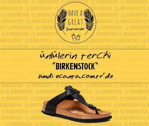 """We start slippers with """"Birkenstock"""" :)"""