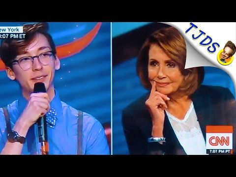 Nancy Pelosi Repels Young People On CNN Town Hall - YouTube
