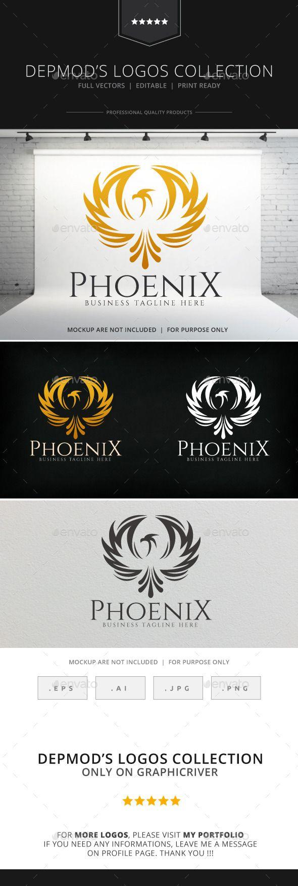 Phoenix Logo — Transparent PNG #antique #consult • Available here → https://graphicriver.net/item/phoenix-logo/8930982?ref=pxcr