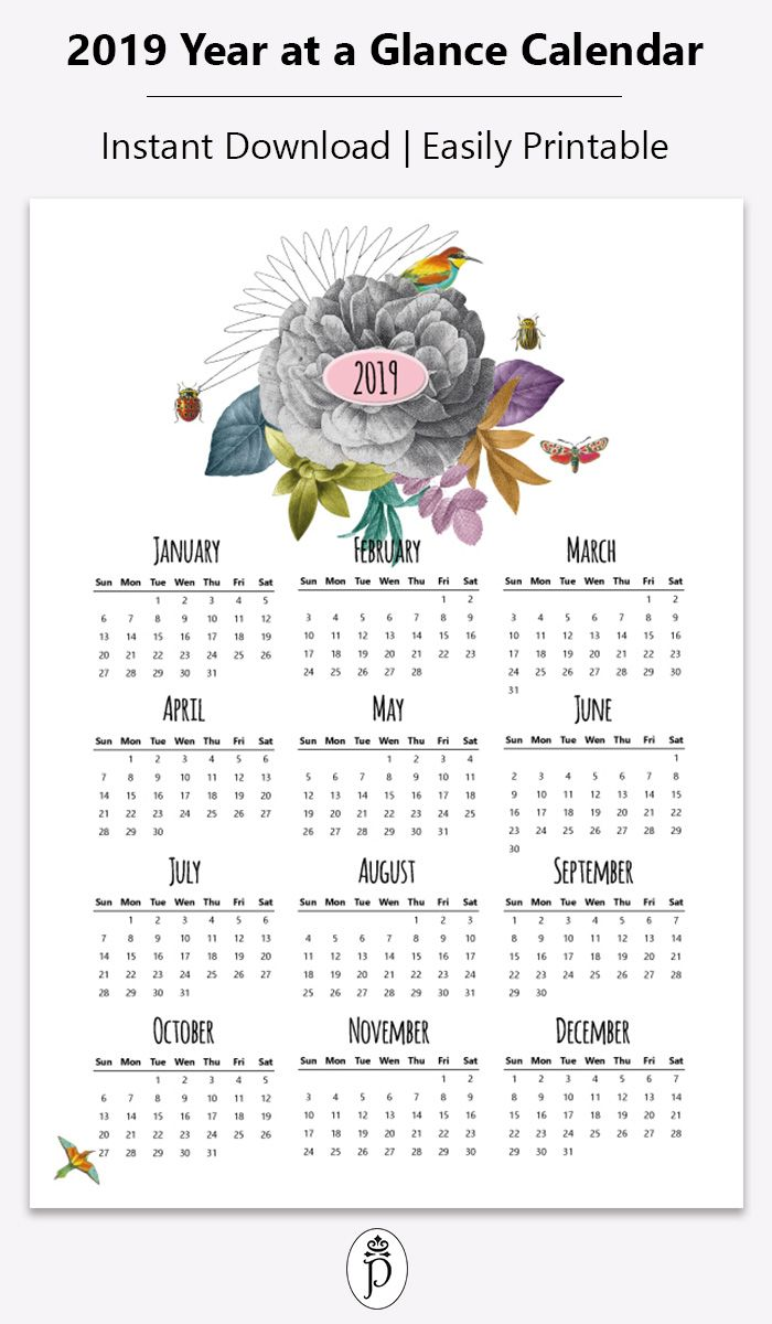 Need Some Inspiration Heere Is The New 2019 Calendar With Cute