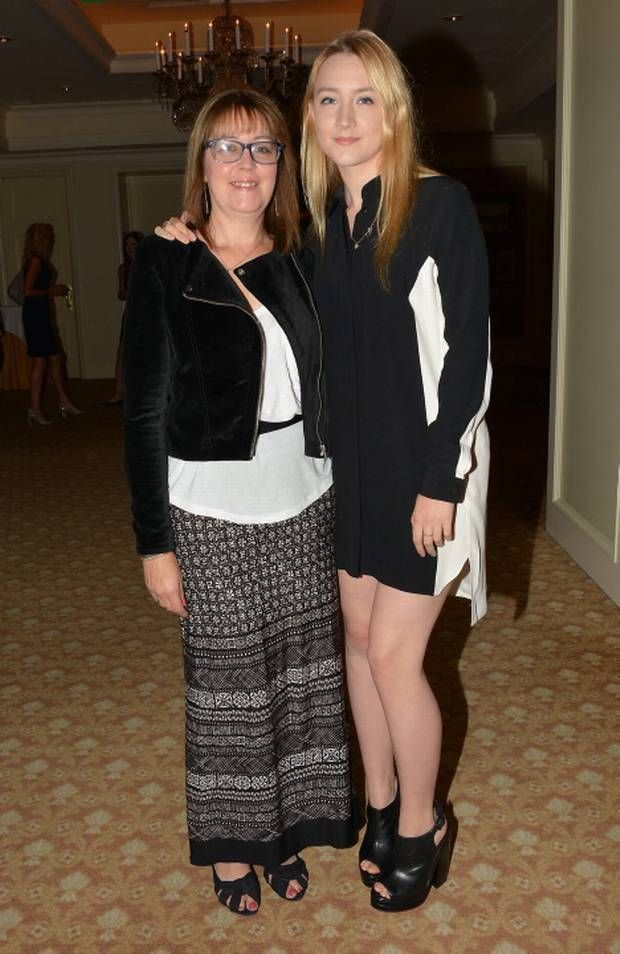 Saoirse Ronan and mother Monica Ronan at Dublin's Four Seasons Hotel in 2013. Pictures: Cathal Burke / VIPIRELAND.COM