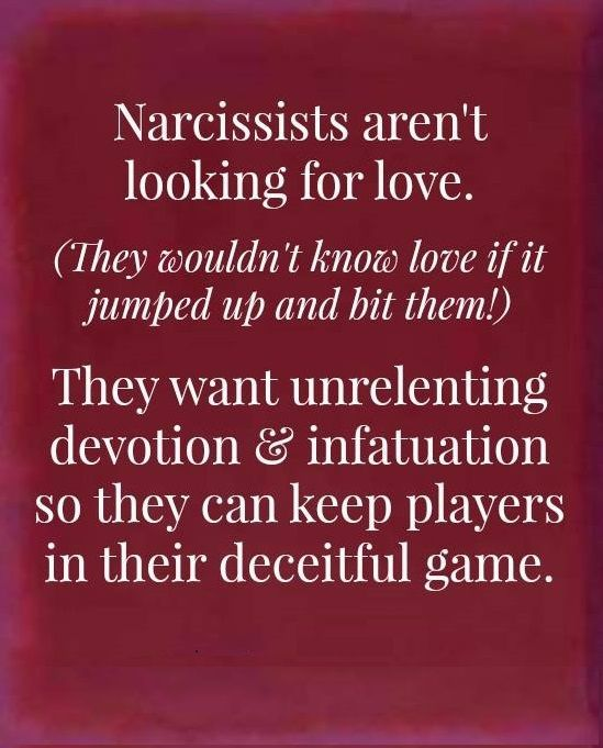 Exactly! He desired external validation because he knows what a piece of crap he really is!