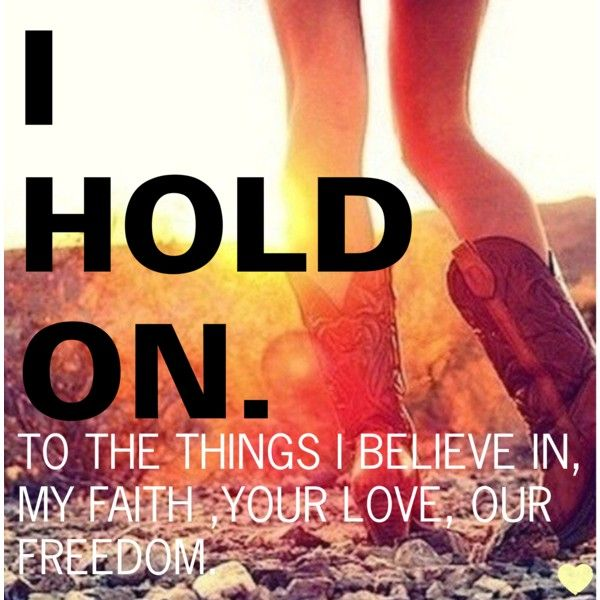 Dierks Bentley - I Hold On. Current song of the moment LOVEE This song