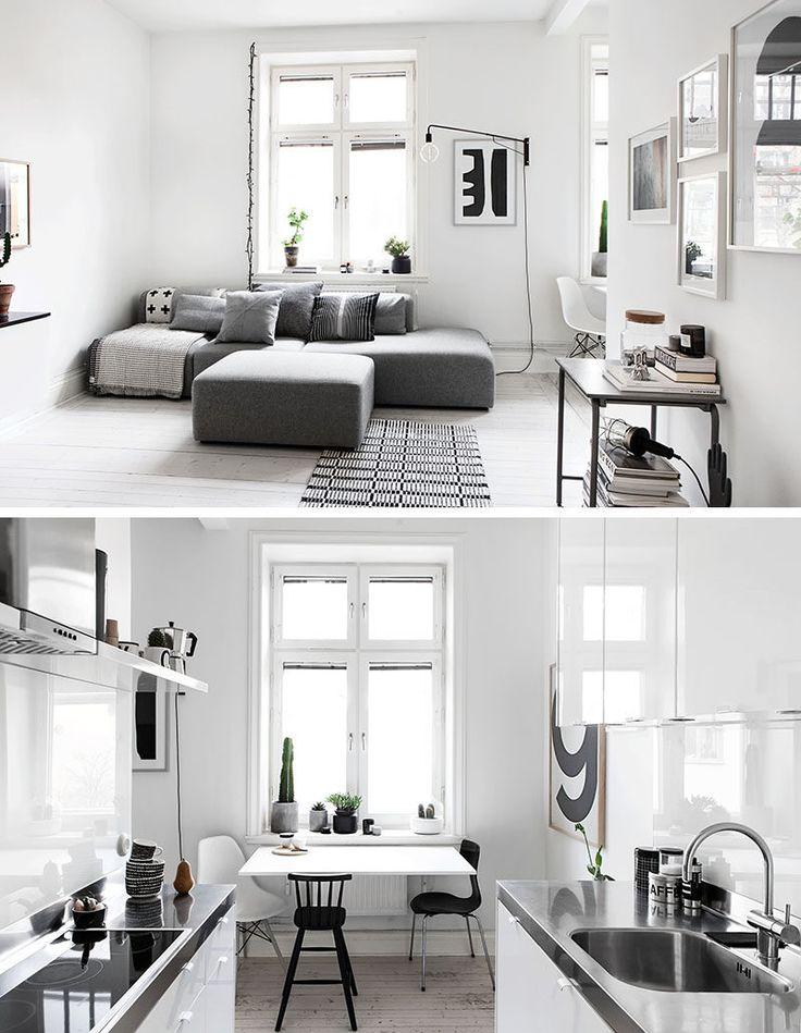 7 Gorgeous Modern Scandinavian Interior Design Ideas #scandinavian