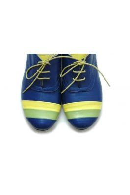 Pantofi fara toc Deea Blue