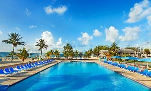 Groupon - 4-Night All-Inclusive Bahamas Vacation with Airfare from Vacation Express. Price/person Based on Double Occupancy. in Bahamas. Groupon deal price: $659